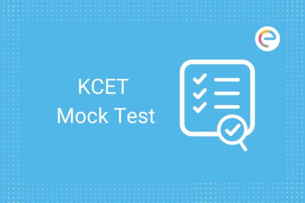KCET Mock Test