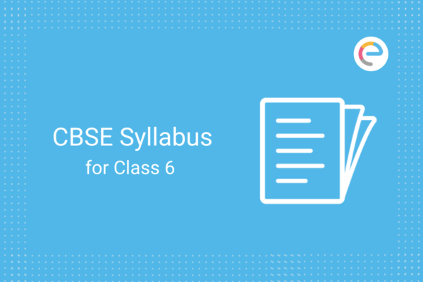 cbse syllabus for class 6