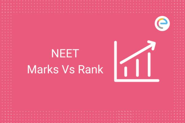 NEET Marks Vs Rank
