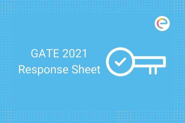 GATE Response Sheet 2021 Embibe