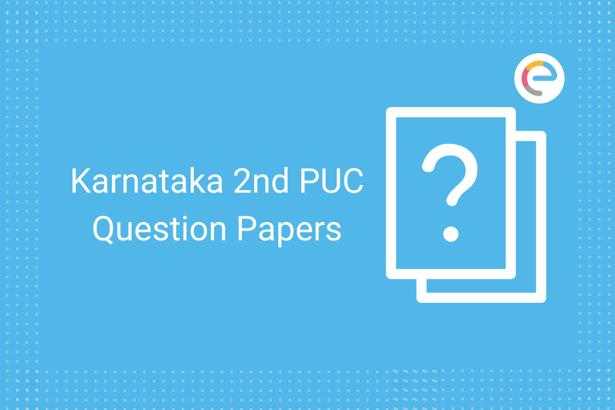 karnataka 2nd puc question papers 2021