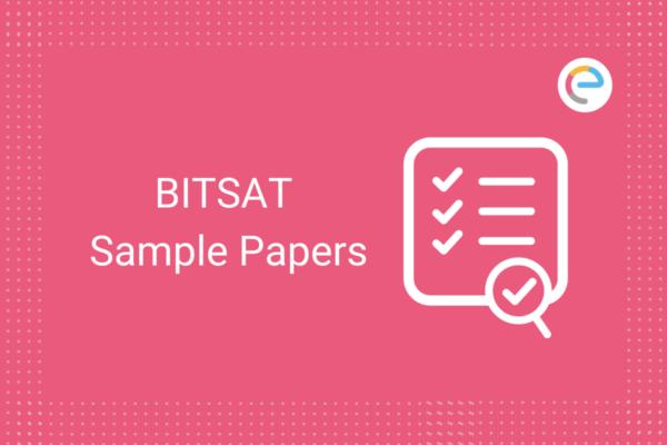 BITSAT Sample Papers