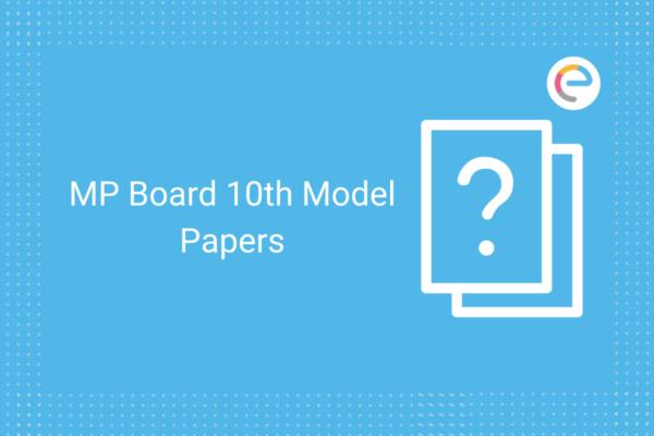 mp board 10th model paper 2021