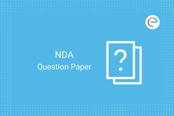 NDA Question Paper: Download