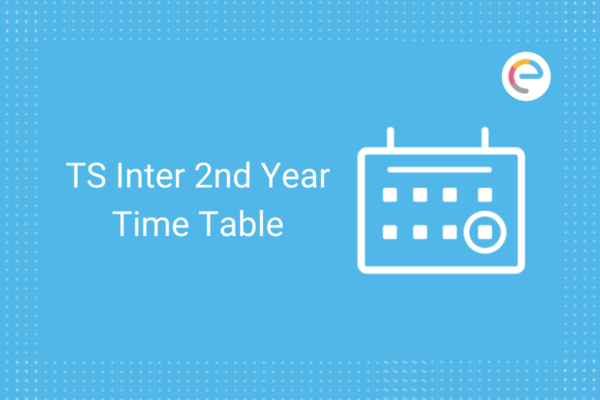 ts inter 2nd year exam time table