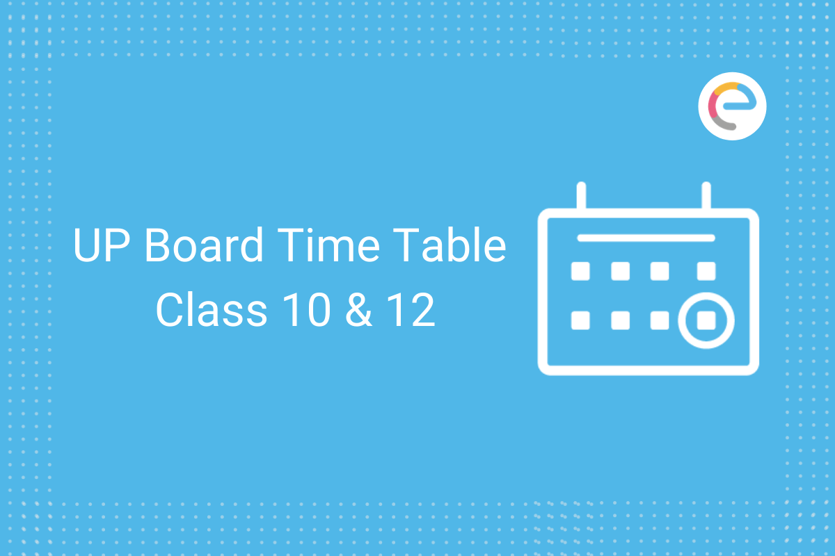 UP Board time table 2021