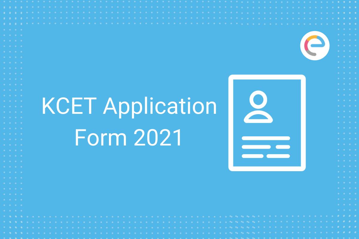 KCET Application Form