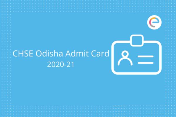 chse odisha admit card