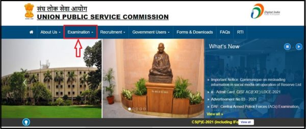 UPSC-Home-Page-Examinations