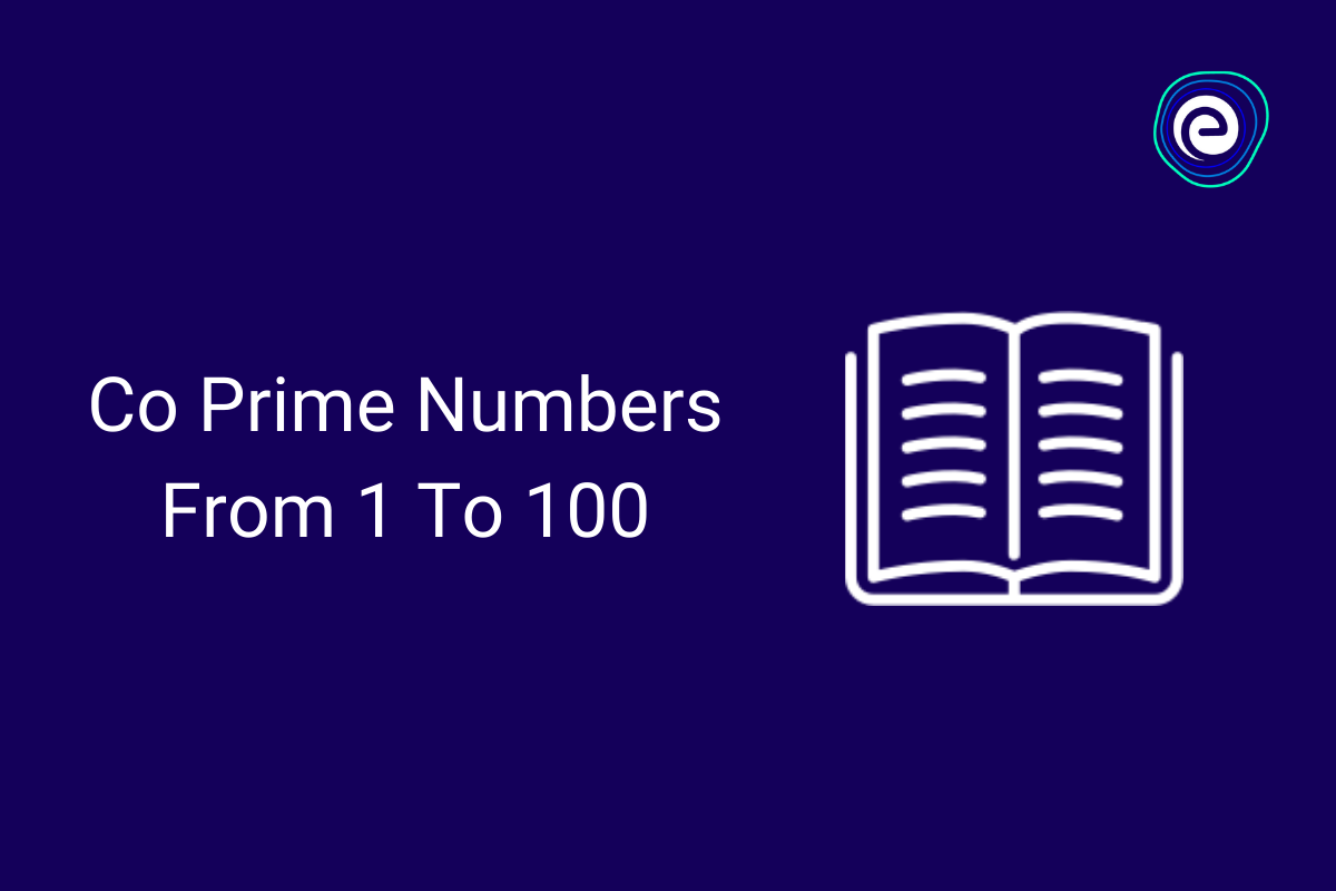 Co Prime Numbers -Embibe.com