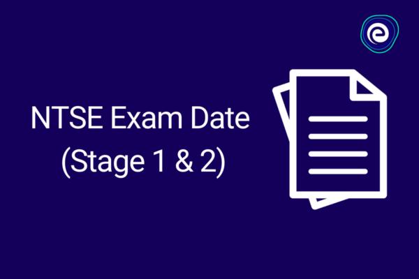 ntse exam dates