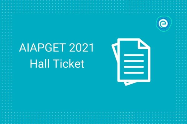 AIAPGET 2021 admit card