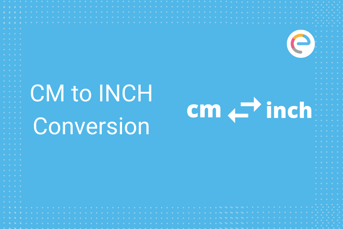 cm to inch conversion