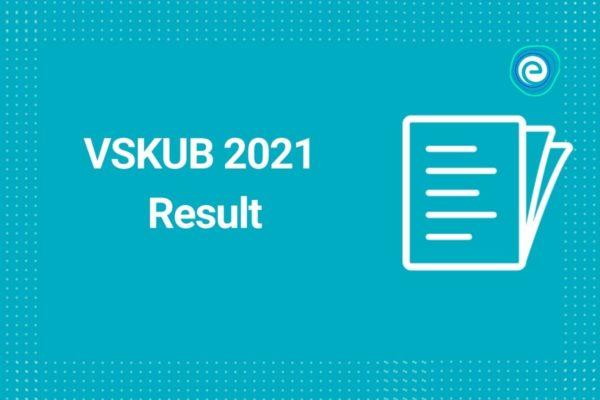 VSKUB 2021 Result