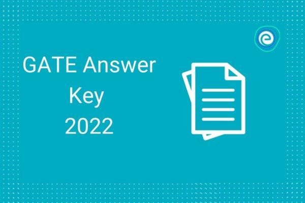 GATE 2022 answer key