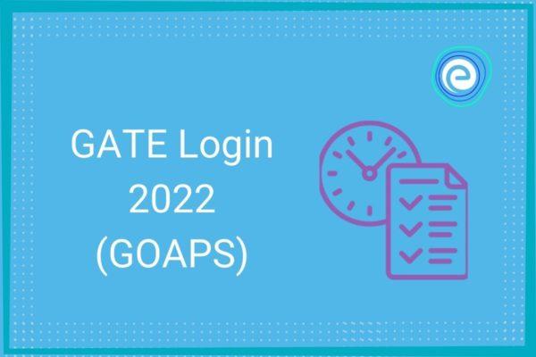 GATE Login 2022