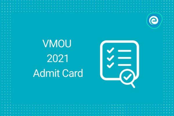 VMOU 2021 Admit Card
