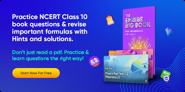 Class 10 Maths Formulas