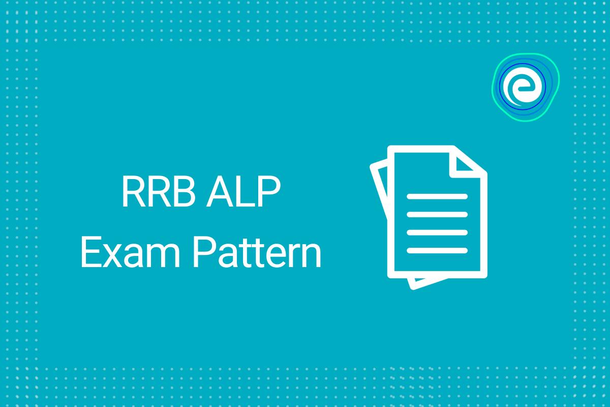 RRB ALP Exam Pattern