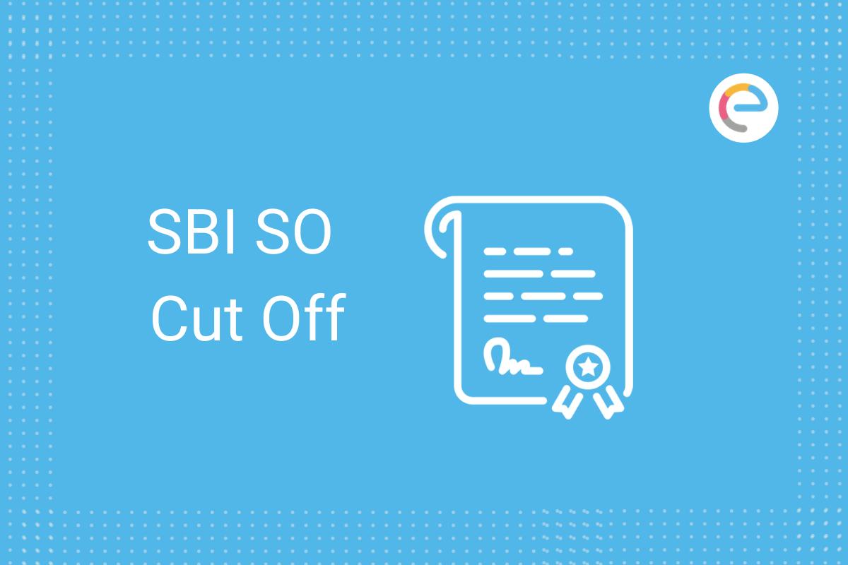 SBI SO Cutoff