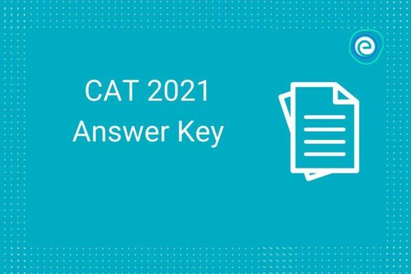 CAT answer key 2021