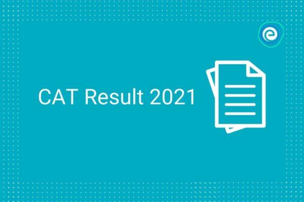 CAT Result 2021