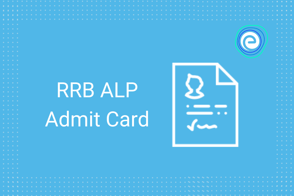 RRB ALP Admit Card