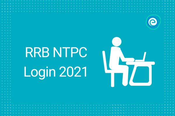 RRB NTPC Login