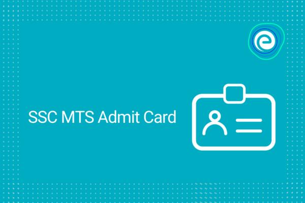 SSC MTS Admit Card