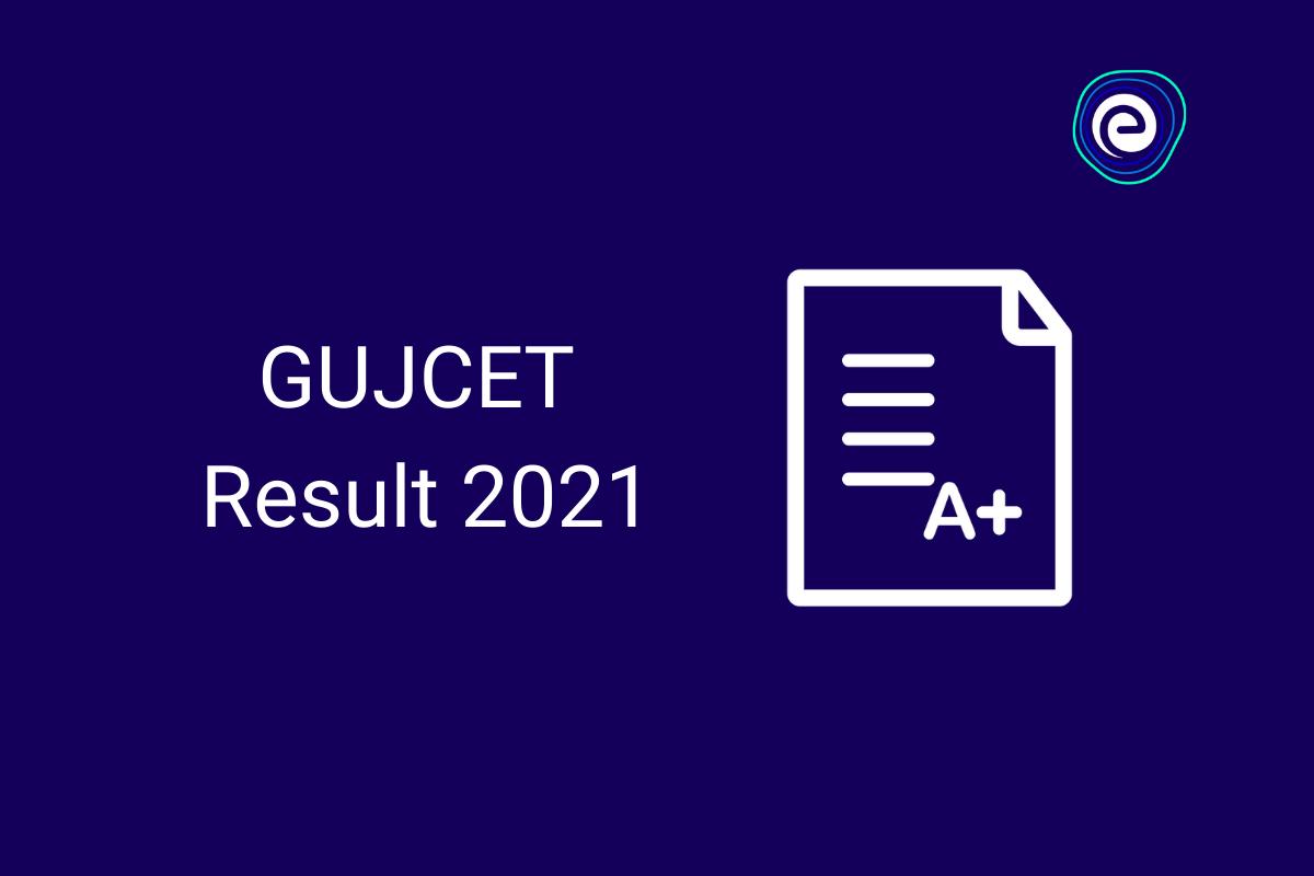 GUJCET Result 2021