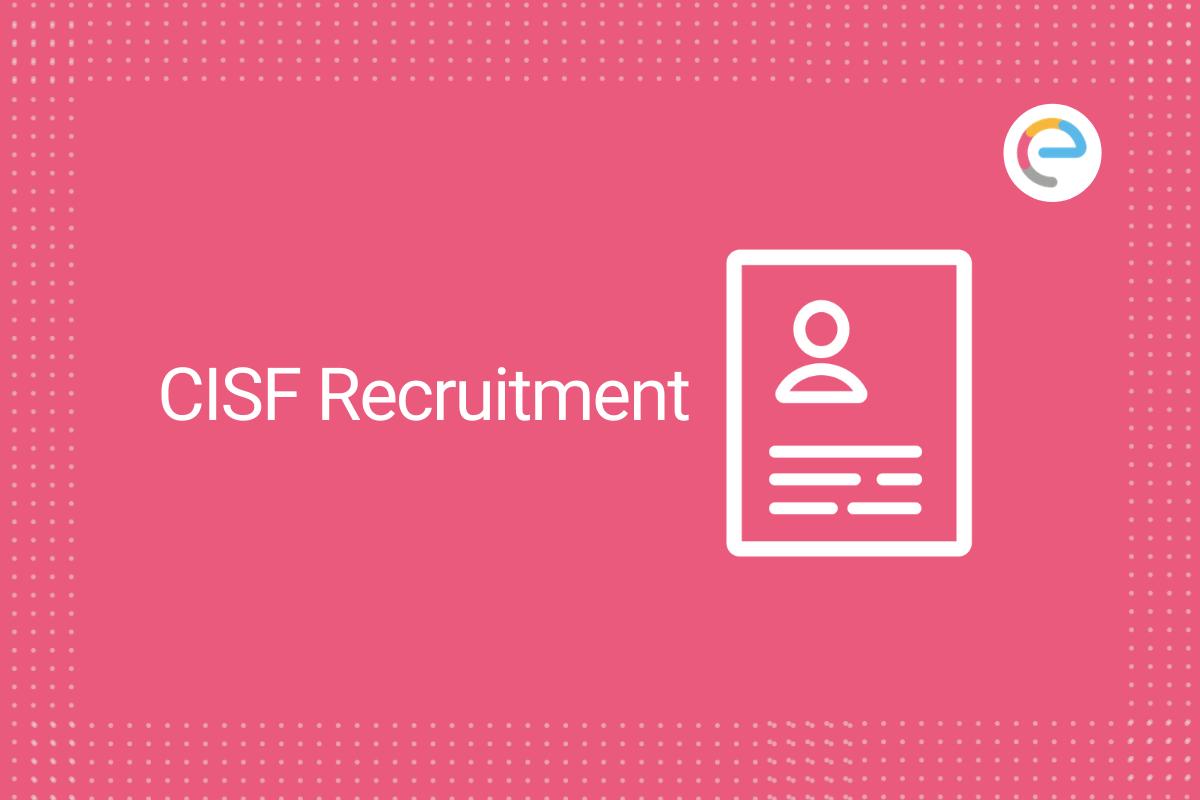 CISF Recruitment