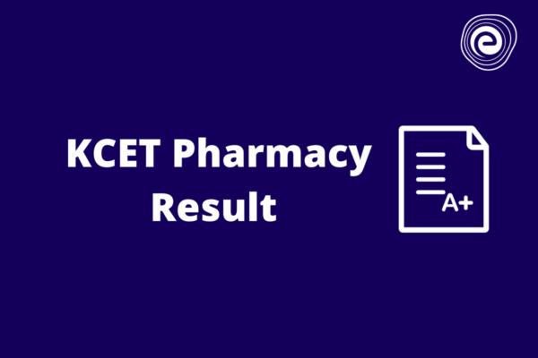 KCET Pharmacy Result