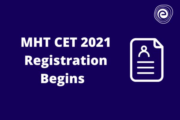 MHT CET 2021 Application Starts
