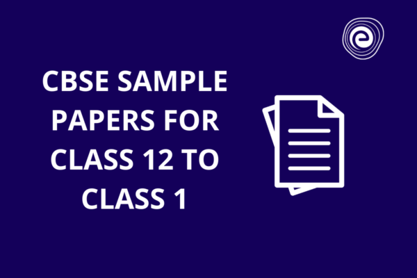 CBSE Sample Paper for Class 12 to1 Embibe
