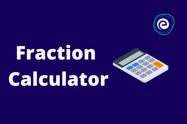 Fraction Calculator Embibe