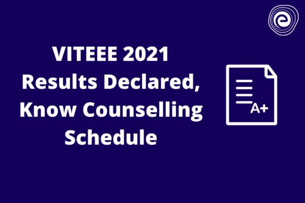 VITEEE Results Declared
