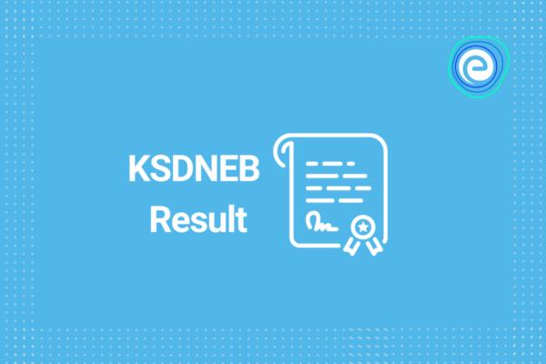 KSDNEB Result