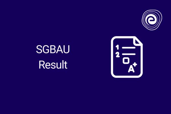 SGBAU Result