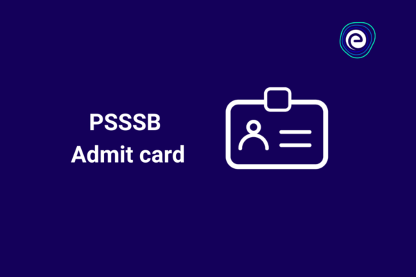 PSSSB Admit card