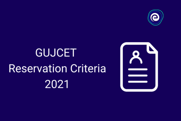 GUJCET Reservation Criteria