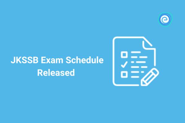 JKSSB Exam Schedule