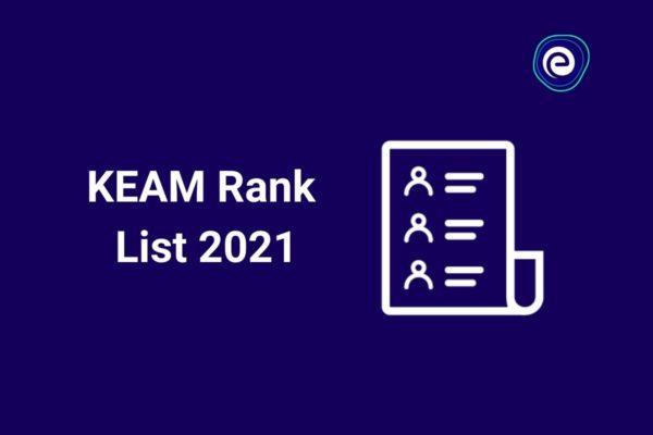 KEAM Rank List 2021