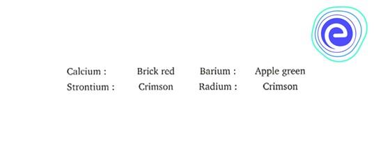 Physical Properties of Alkaline Earth Metals