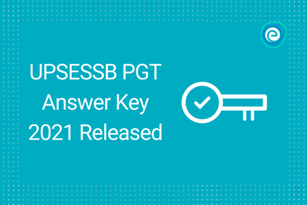 UPSESSB PGT Answer Key