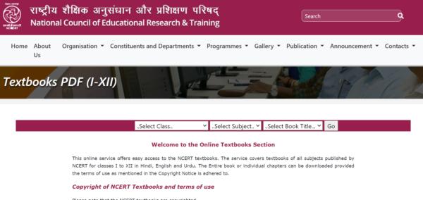 Class 12 NCERT Book PDF Link