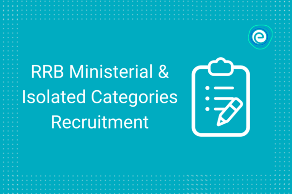 RRB Ministerial & Isolated Categories Recruitment