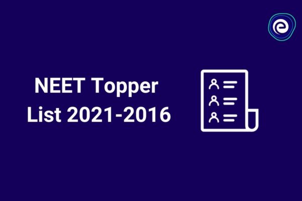 List of NEET Toppers