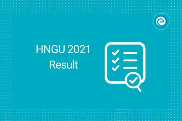 HNGU 2021 Result