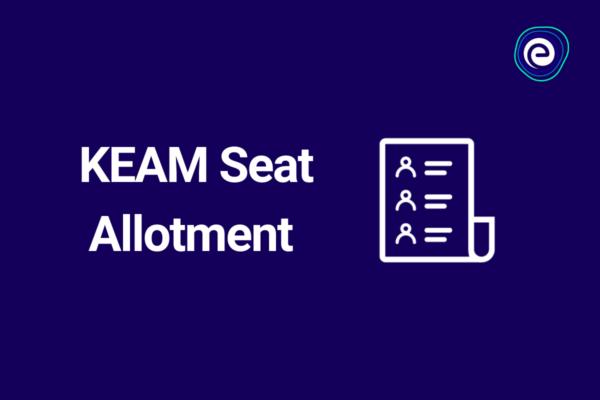 KEAM Seat Allotment