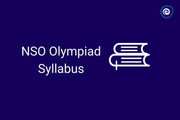 NSO Olympiad Syllabus